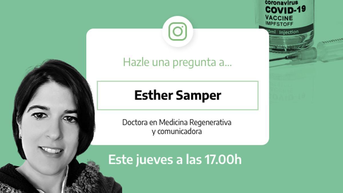 Preguntas y respuestas sobre la COVID-19 con Esther Samper