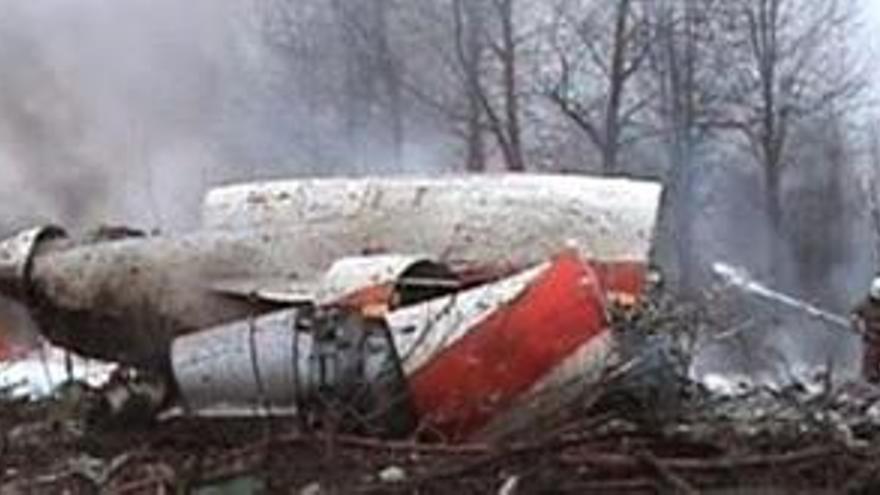 Fallece el presidente de polonia en un accidente de avión