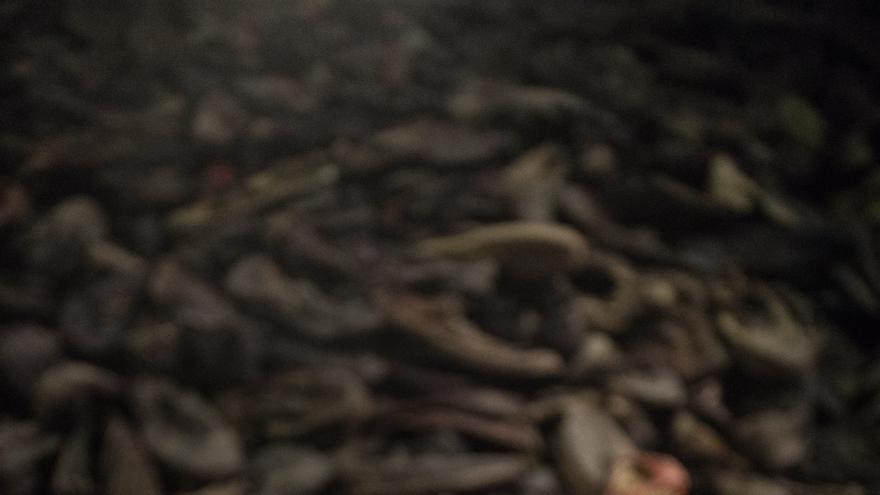 Parte de la exposición de Auschwitz de Madrid / Jesús Varillas