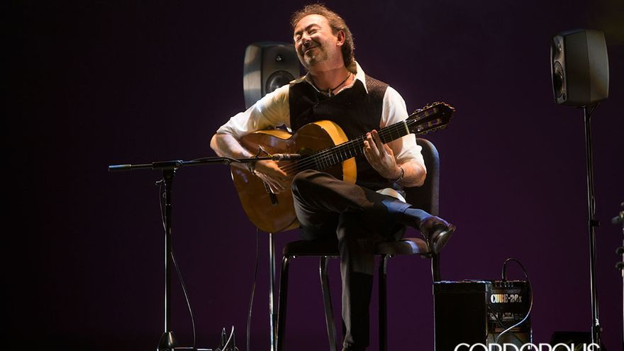 José Antonio Rodríguez, en el Festival de la Guitarra 2017 | MADERO CUBERO