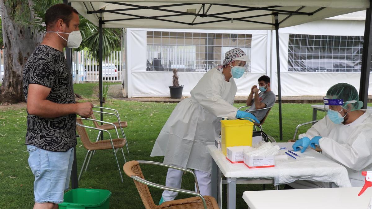 Extremadura ha registrado 507 casos positivos este jueves