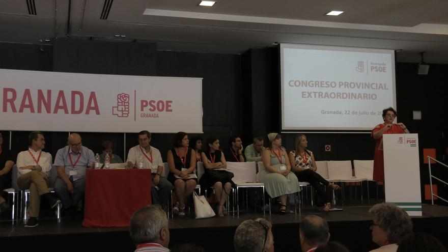 El PSOE de Granada aprueba por aclamación la lista de sus 66 delegados al Congreso Regional
