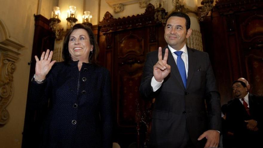 Sandra Torres y Jimmy Morales se disputan la presidencia de Guatemala /EFE