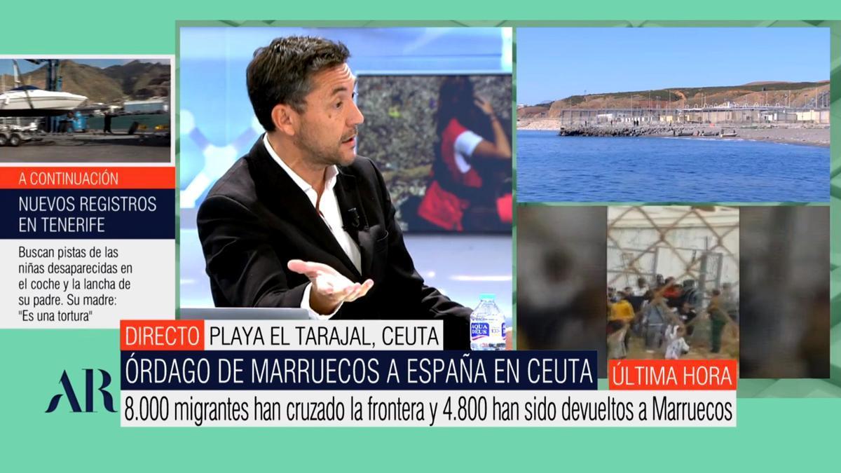 Javier Ruiz en 'El programa de AR'