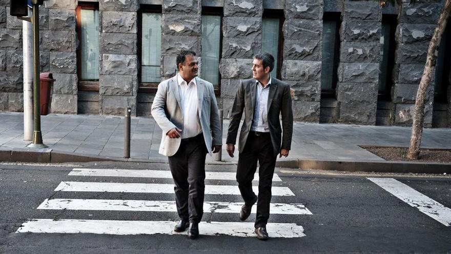 José Alberto Díaz y Fernando Clavijo
