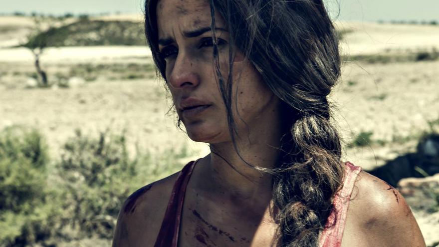 Inma Cuesta en el rodaje de 'La Novia'