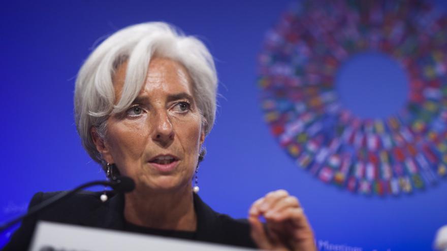 Lagarde revisará a la baja de nuevo sus previsiones de crecimiento