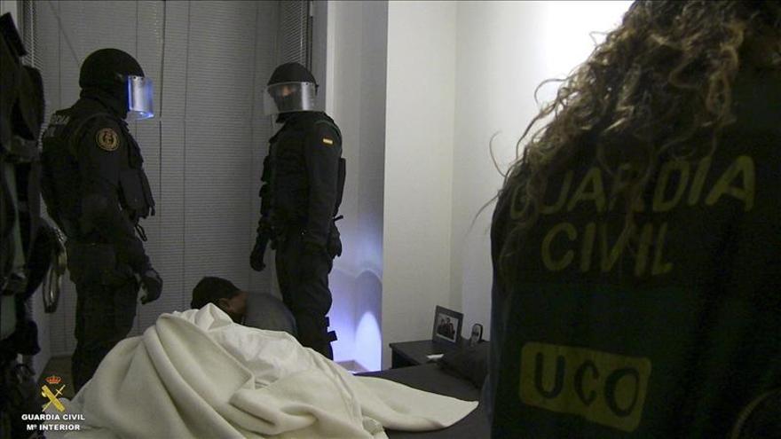 Esclarecen un asesinato en Mijas en una operación contra el narcotráfico