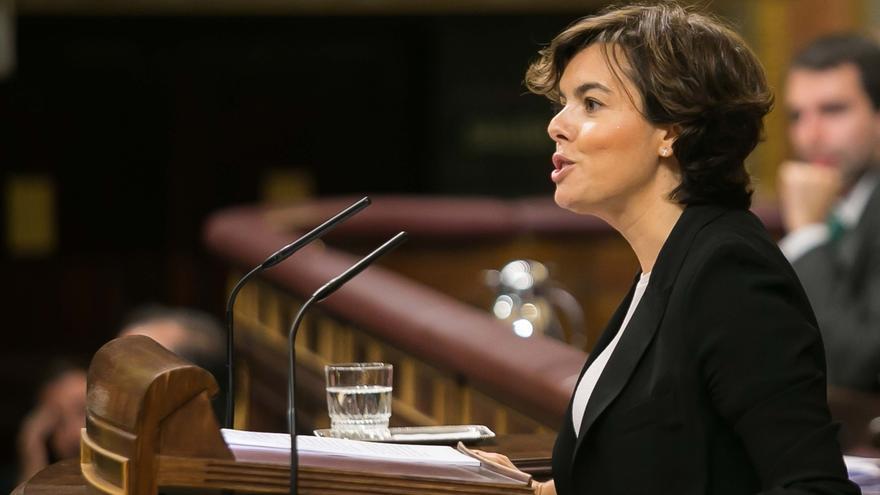 """Santamaría dice al PdeCAT que """"están a tiempo"""" de volver a la ley en vez de """"imponer"""" su """"fiesta"""""""