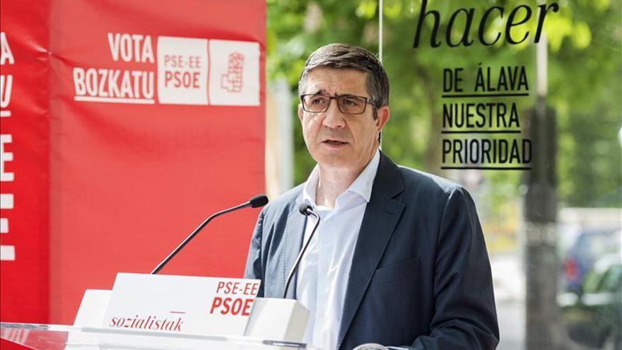 Patxi López compara el proceso soberanista catalán con el vivido en el País Vasco