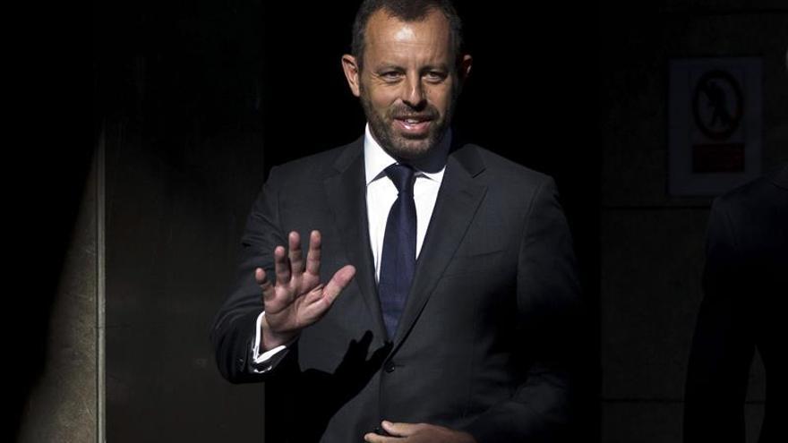 El expresidente del F.C. Barcelona Sandro Rosell