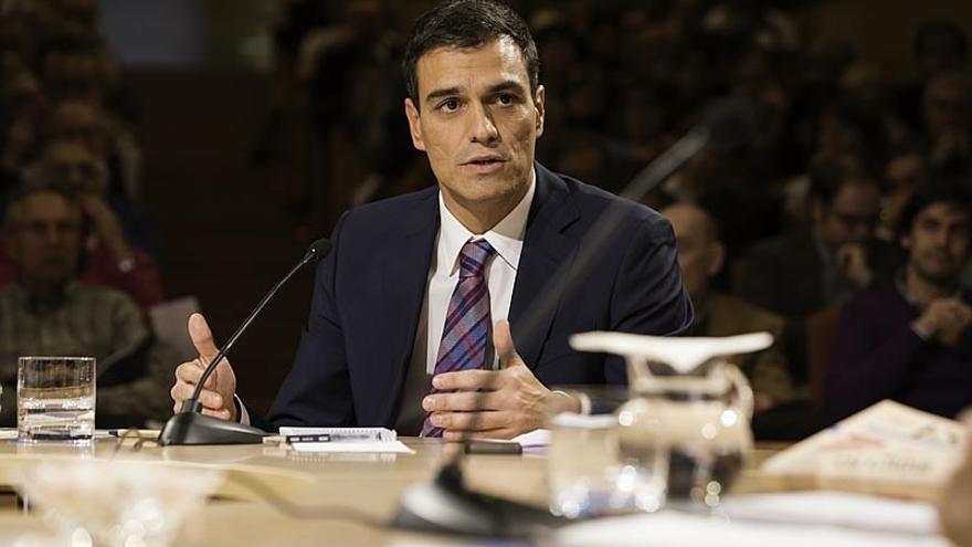 """Pedro Sánchez dice estar """"en las quinielas"""" para liderar el partido por """"derecho propio"""""""
