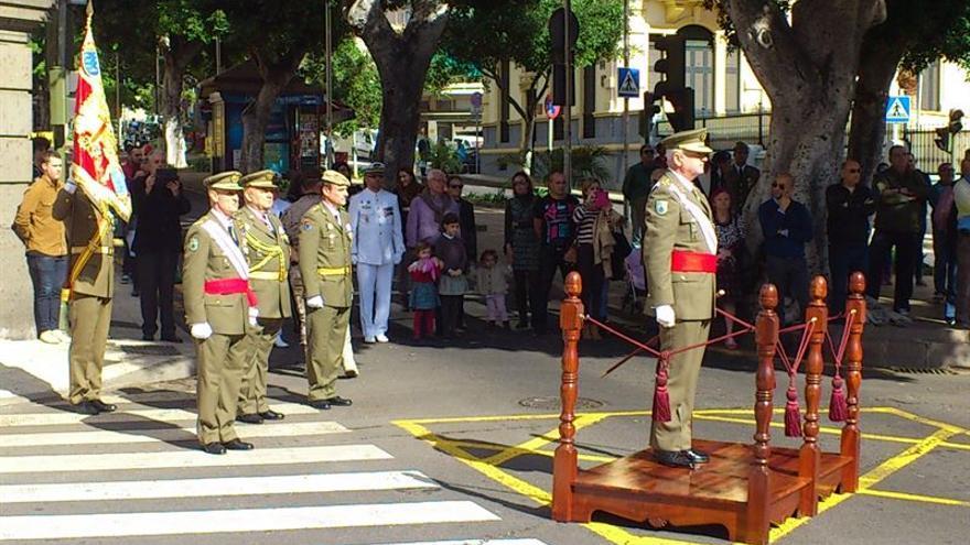 La celebración de la Pascua Militar en Canarias ha tenido lugar en Santa Cruz de Tenerife, en el Palacio de Capitanía General de Canarias, presididos por el teniente general Pedro Galán García.