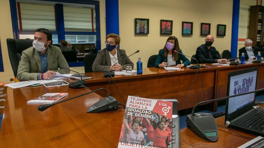 """Inauguración del proyecto """"Tejiendo alianzas para la igualdad de género"""""""