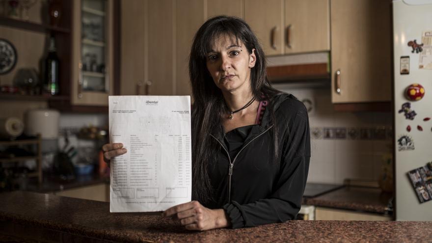 Ana Tamargo, afectada por la estafa de iDental