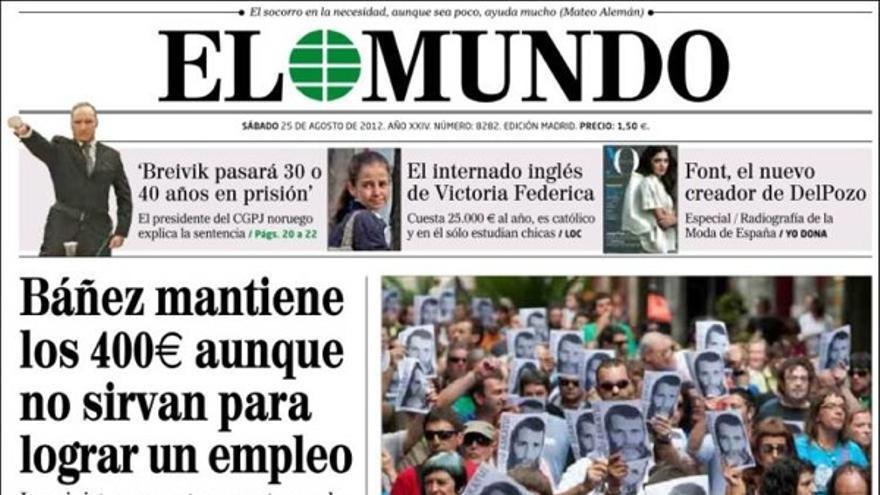De las portadas del día (25/08/2012) #7