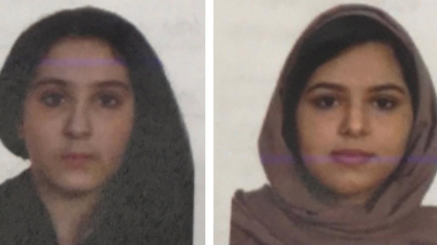 Las hermanas saudíes Rotana y Tala Farea, cuyos cuerpos fueron encontrados en el río Hudson / EFE
