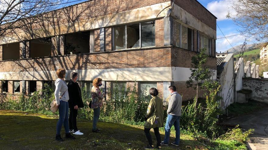 Parcela de Trefilería en la que se instalará la residencia.