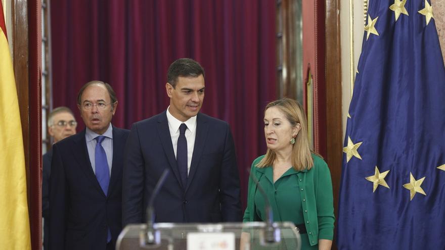 Moncloa sugiere que la comparecencia de Torra en el Congreso se celebre en comisión, sin necesidad de votación