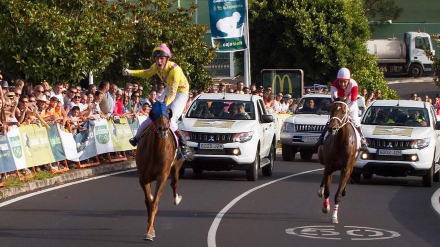 Imagen de archivo de las carreras de la primera temporada de 'La Palma Ecuestre'.