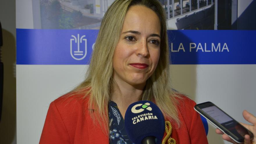 Susana Machín, consejera de Educación del Cabildo de La Palma.