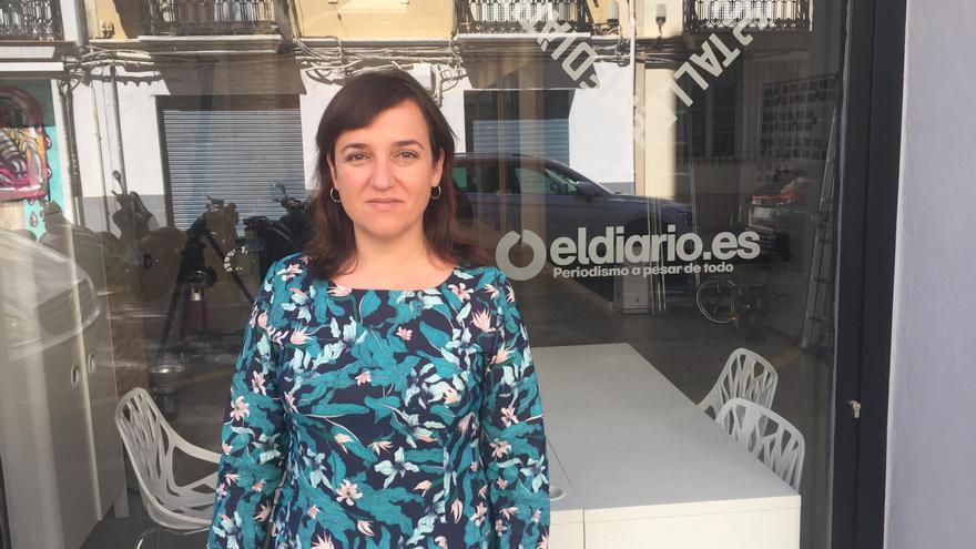 La concejala Isabel Lozano