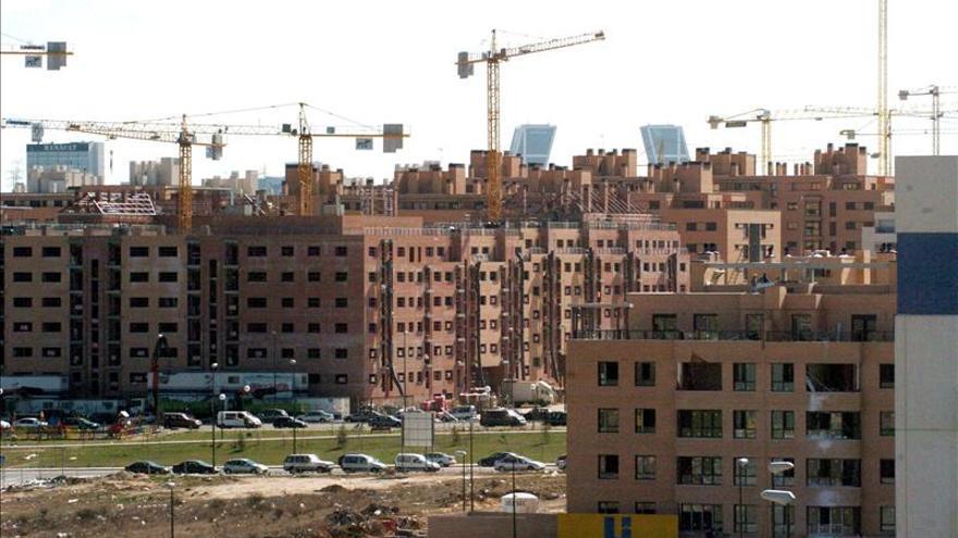La construcción cae en septiembre un 1,3 por ciento en la zona del euro y en la UE