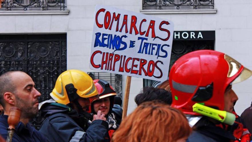 Los bomberos denuncian retrasos en la creación del servicio propio de la Diputación de Huesca
