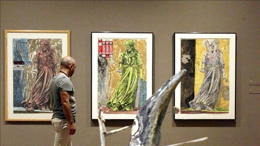 El Bellas Artes de Bilbao exhibe 34 obras de Nagel donadas por un galerista
