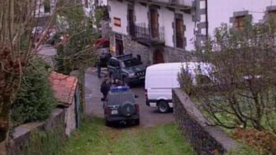 Tiroteo de Leiza, en Navarra
