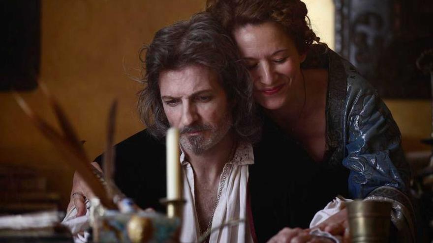 Escena de la película  'Lope Enamorado' de Rodolfo Montero.