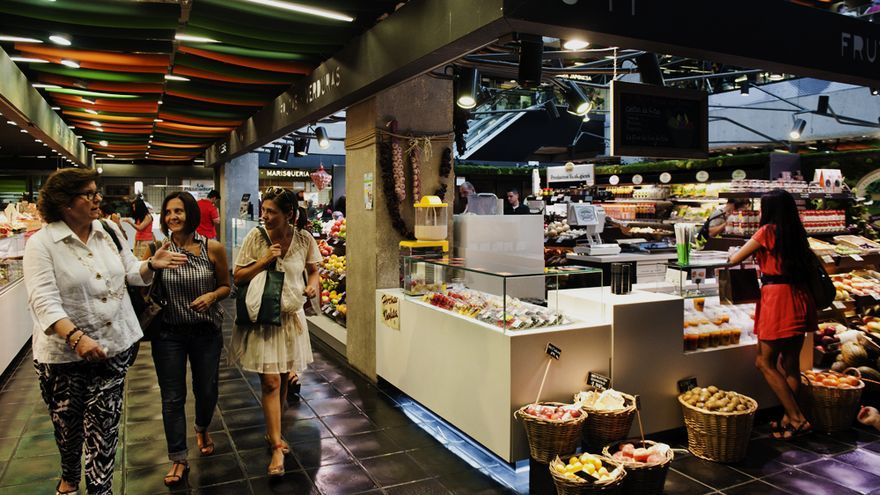 Imagen del mercado de San Antón