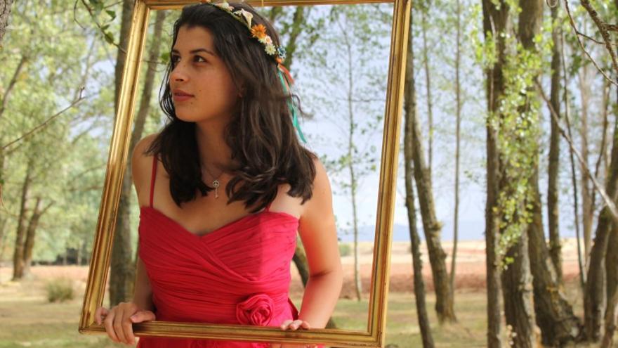 Valentina Ramírez, ganadora del concurso 'Valentina del Mundo' del Cabildo de El Hierro