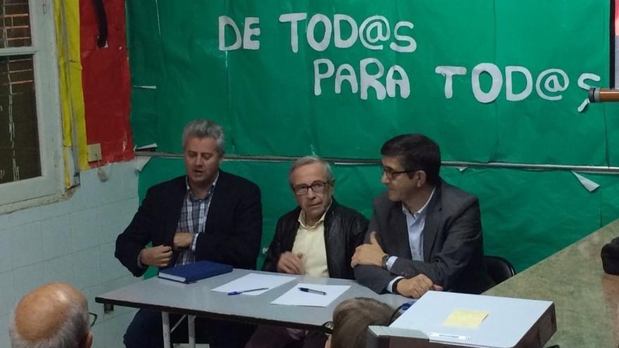 Patxi López defiende en San Sebastián de los Reyes la reivindicación del PSOE hacia las víctimas del franquismo
