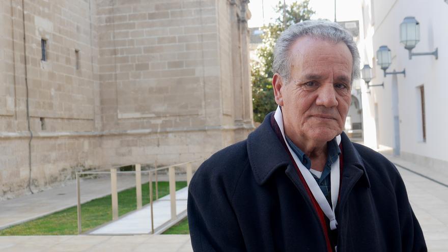 Ahmed Zefzafi en el Parlamento de Andalucía