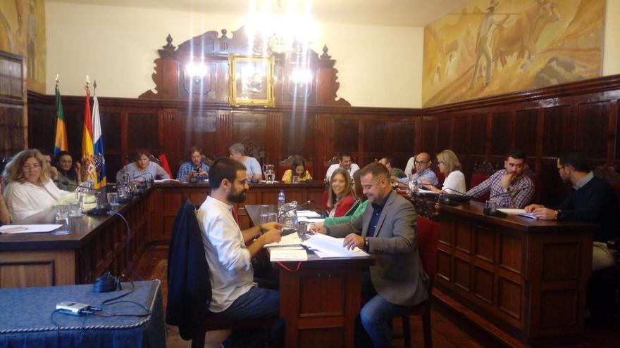 Pleno del Ayuntamiento de Los Llanos de Aridane celebrado el pasado 20 de junio.