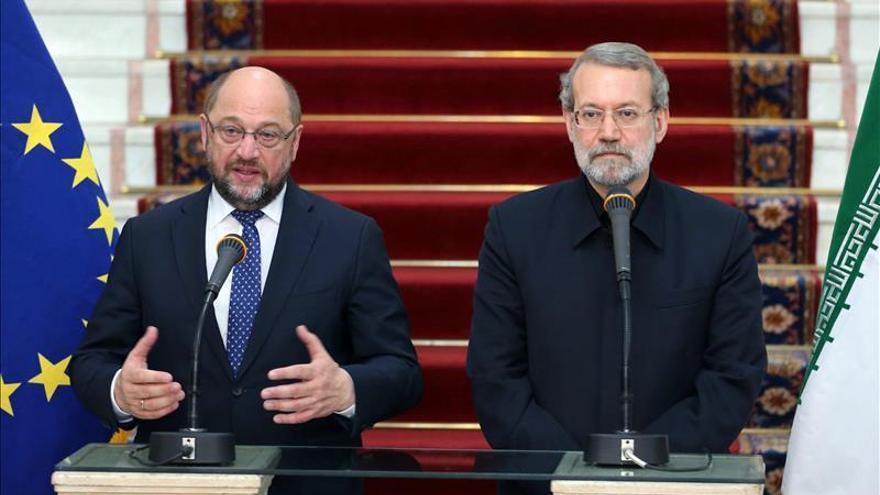 Schulz reafirma en Teherán el interés de la UE en reforzar sus lazos con Irán