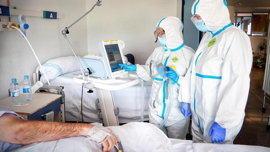 Personal sanitario durante la pandemia por la COVID-19