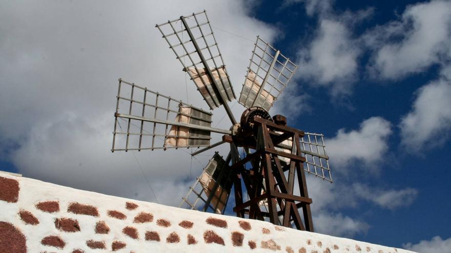 Torre de la Molina de Tefía, una de las mejor conservadas de Fuerteventura.