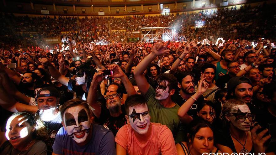 Concierto de Kiss en el Festival de la Guitarra.