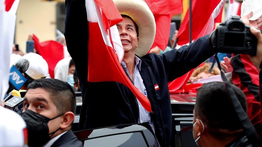 El izquierdista Pedro Castillo se aproxima al triunfo electoral en Perú