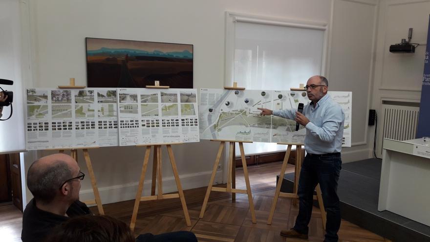 El diseño del parque sur de Chantrea incluye la conversión a calle de 30 km/h el vial que cruzará el barrio