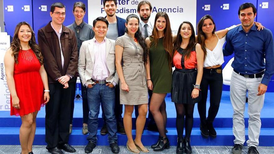 Convocada la XVII edición del Máster de Periodismo de la Agencia EFE