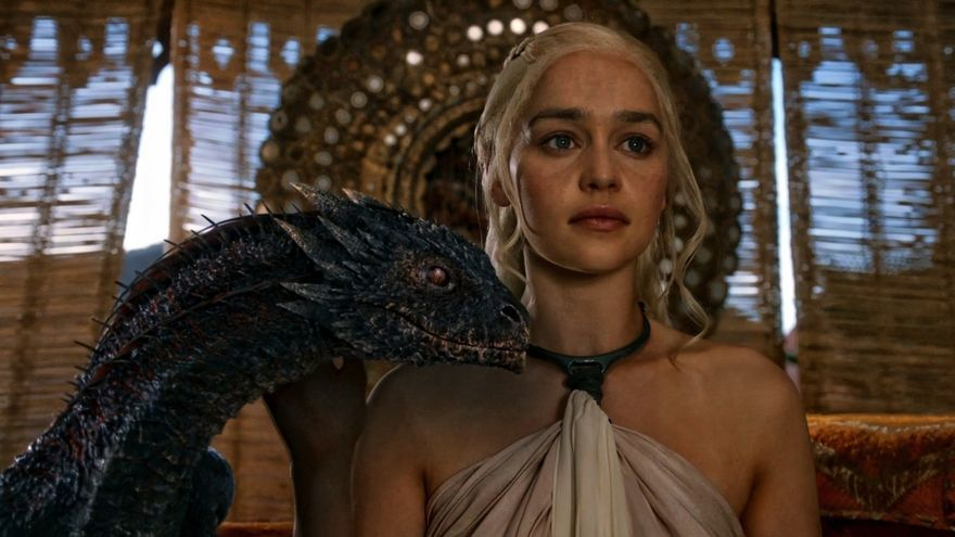 Emilia Clarke, que interpreta a  Daenerys Targaryen en Juego de Tronos, es una de las actrices más populares de la serie