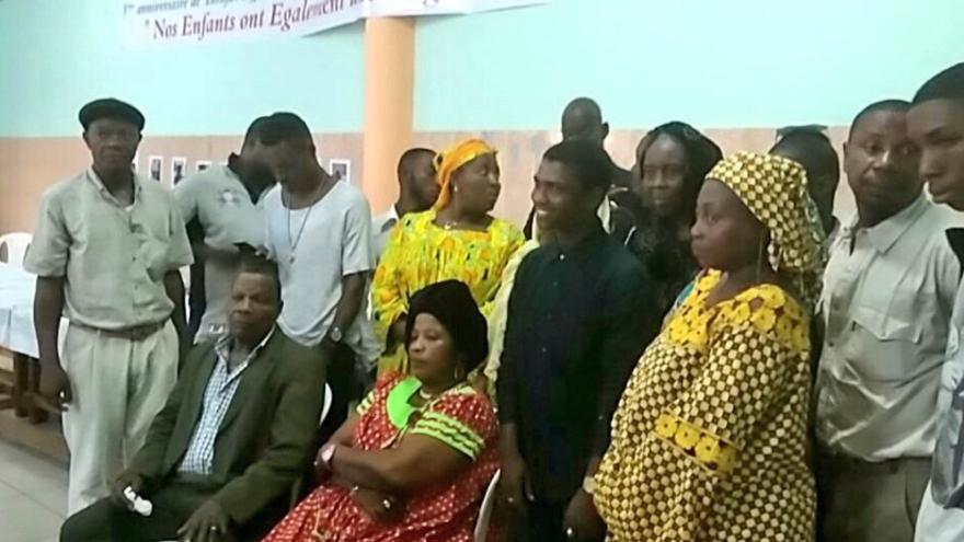 Homenaje a las víctimas de Tarajal en Camerún. Foto: Gabriela Sánchez