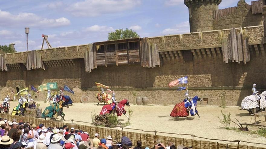 Uno de los espectáculos de Puy du Fou Francia