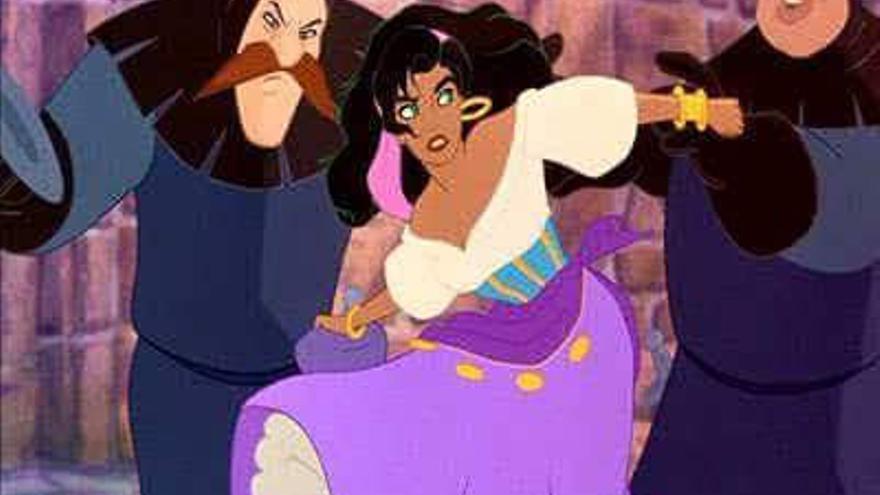 Esmeralda, la protagonista gitana de 'El jorobado de Notre Dame' (Disney)