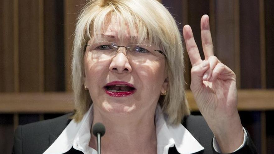 """La fiscal venezolana insiste en denunciar la """"ruptura del hilo constitucional"""""""
