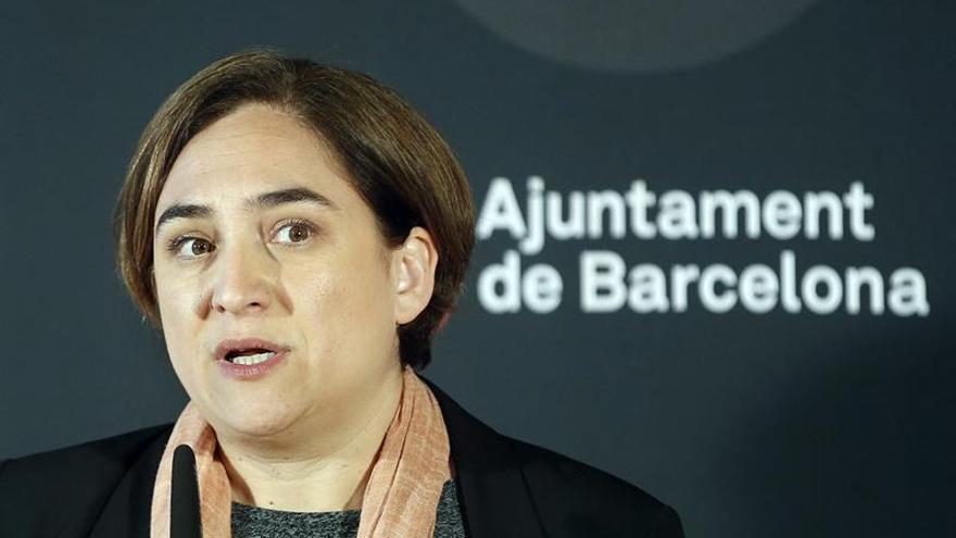 Colau niega que Barcelona tenga un plan para regular la prostitución