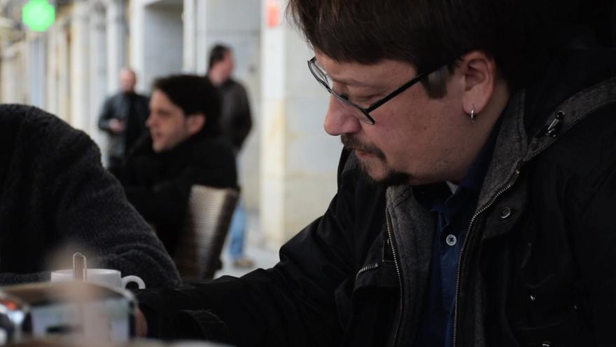 Xavier Domènech en Girona